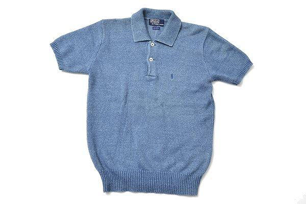POLO Ralph Lauren indigo summer knit