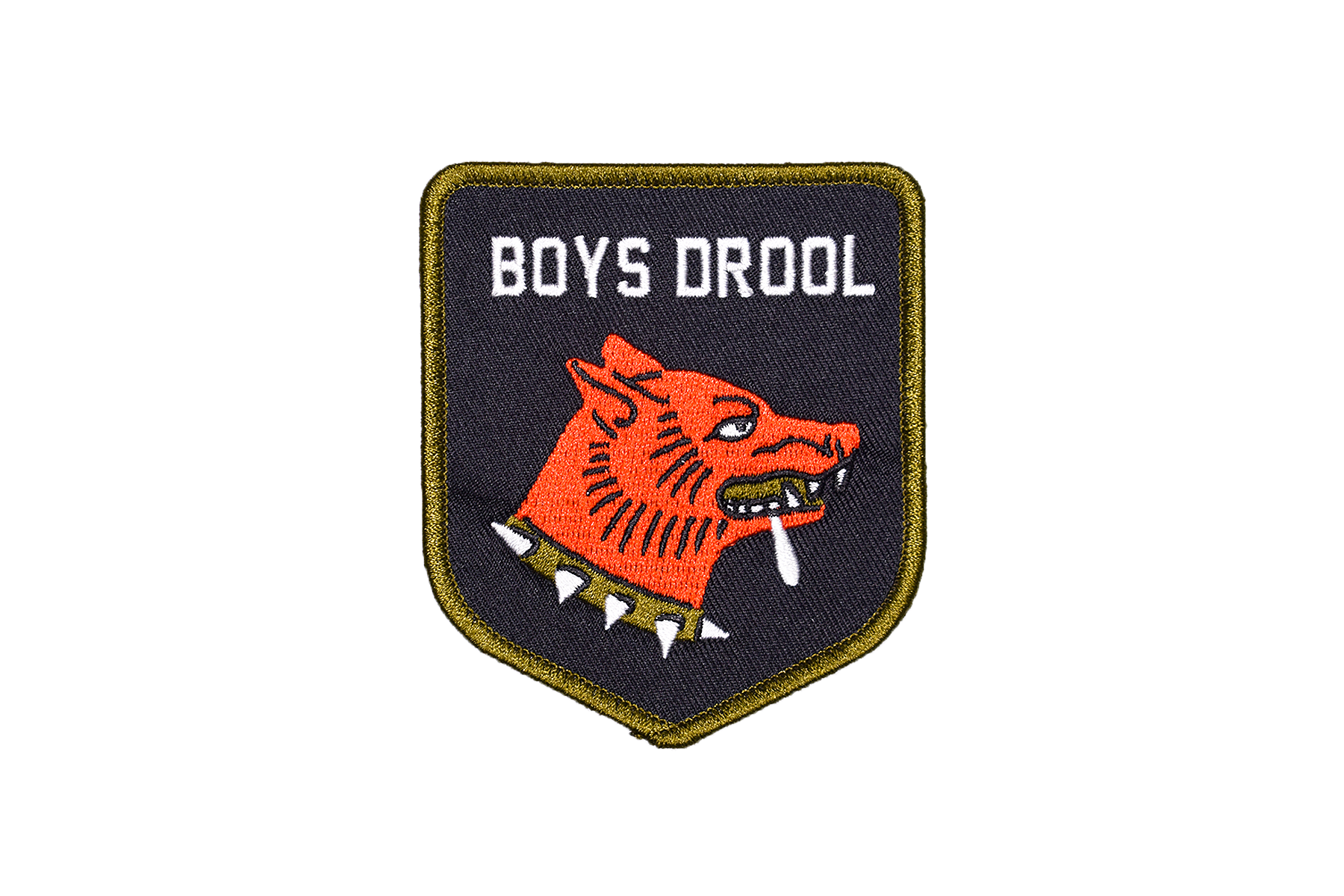 BOYS DROOL Embroidered Patch