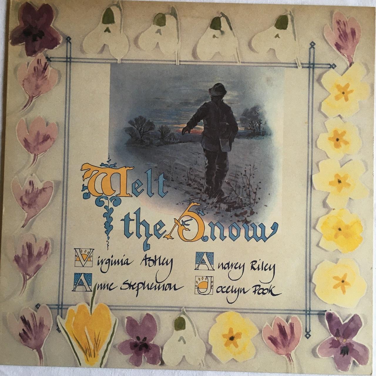 【12inch・英盤】Virginia Astley / Melt The Snow