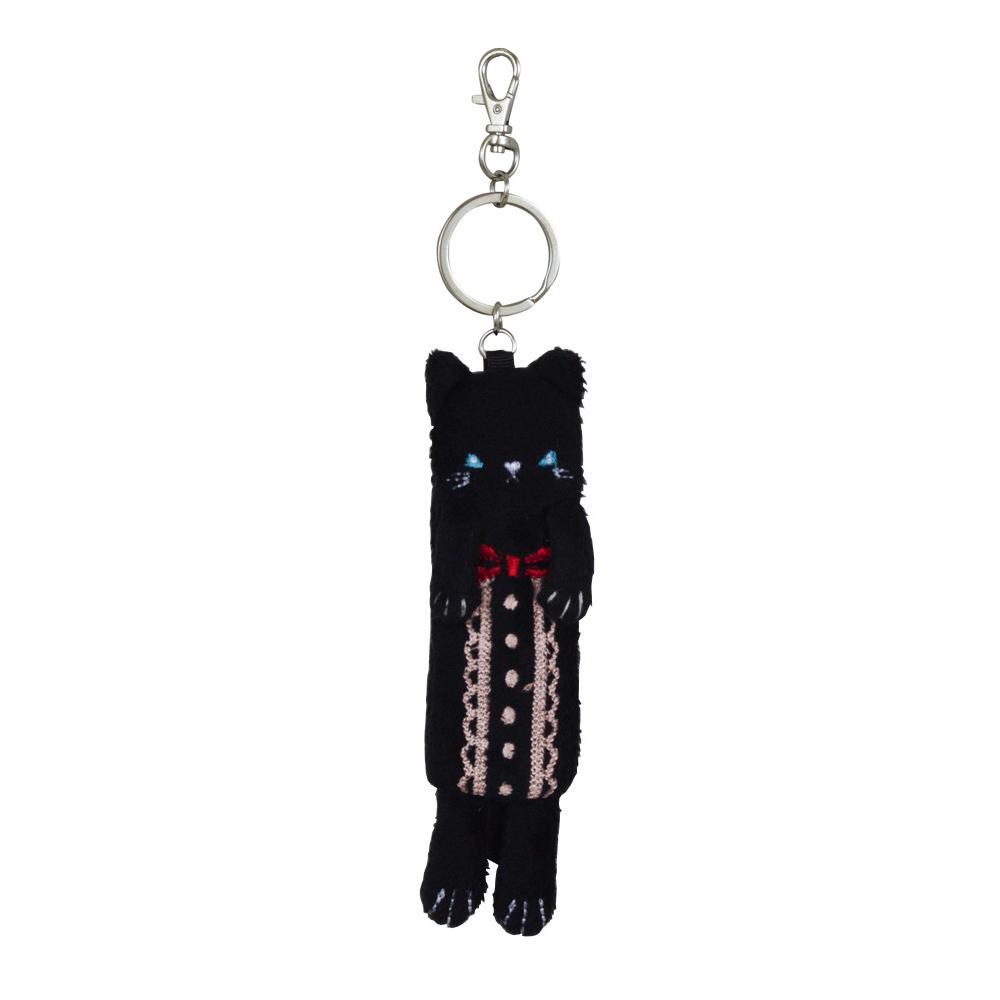 猫リップケース(黒猫ケース)