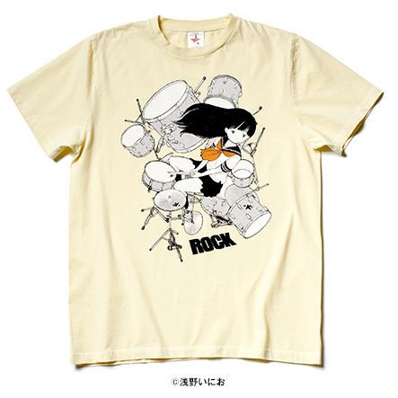 浅野いにお描きおろし ドラム女の子.(YELLOW)/ rockin' star