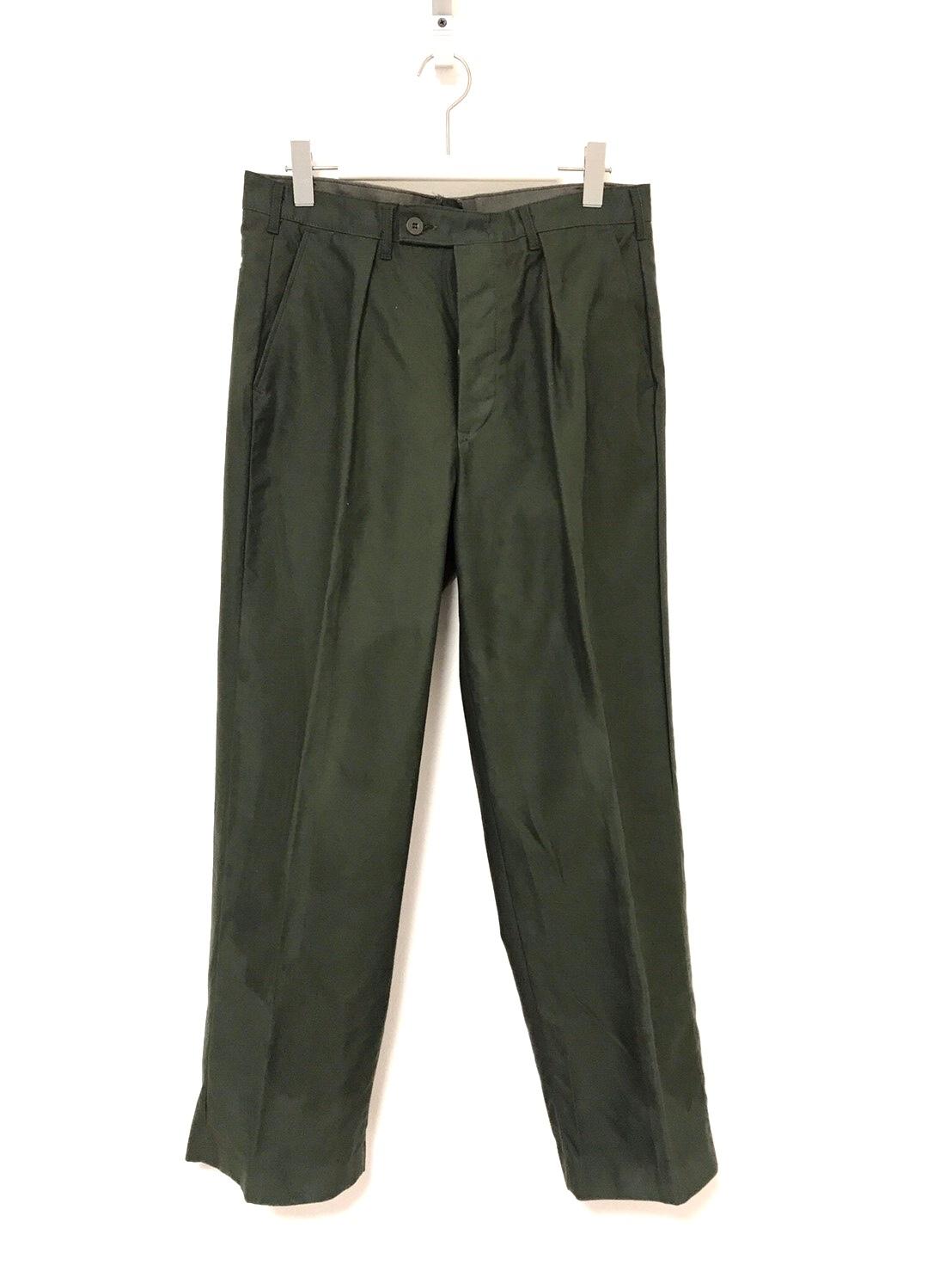 70's Dead Stock Swedish Army Utility Pants C96