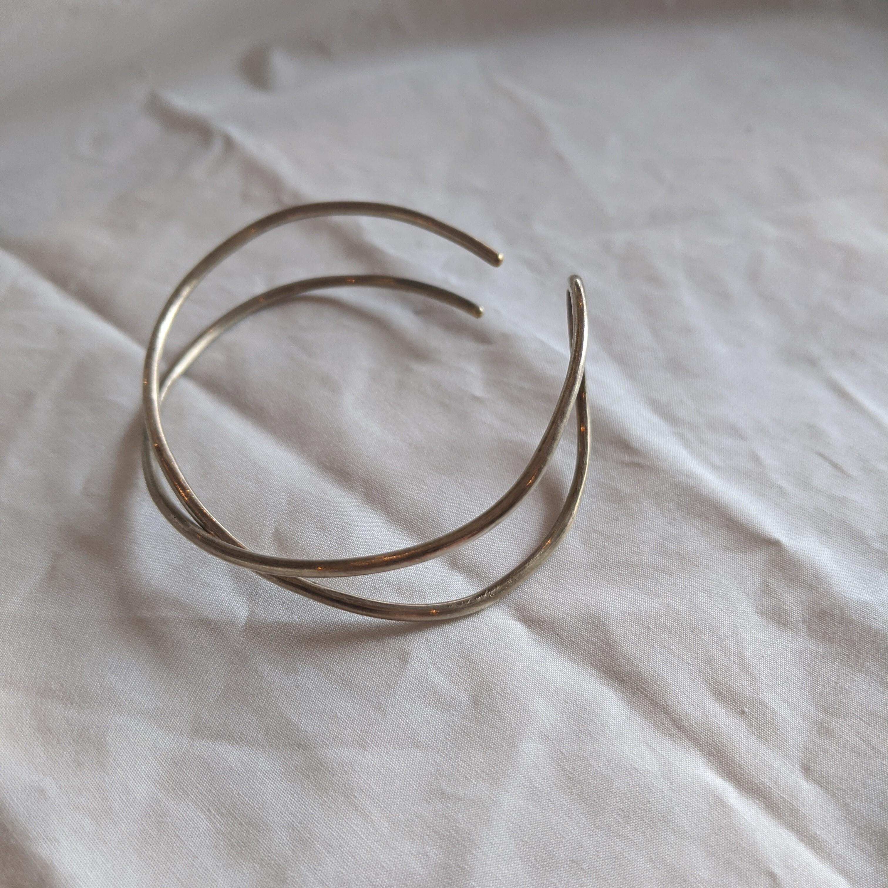 【 jomathwich 】silver bangle / B-42細 シルバーバングル マット加工