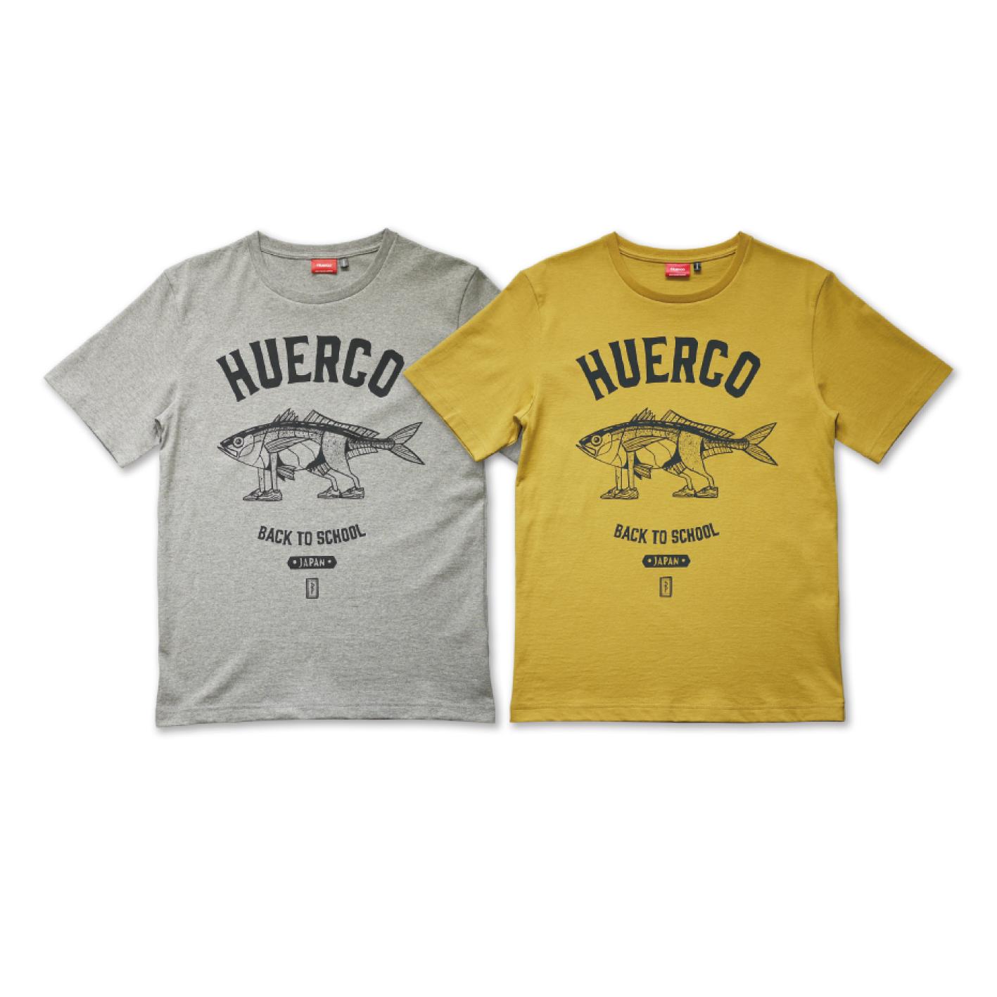 Huerco AJI-WALKER T-shirts
