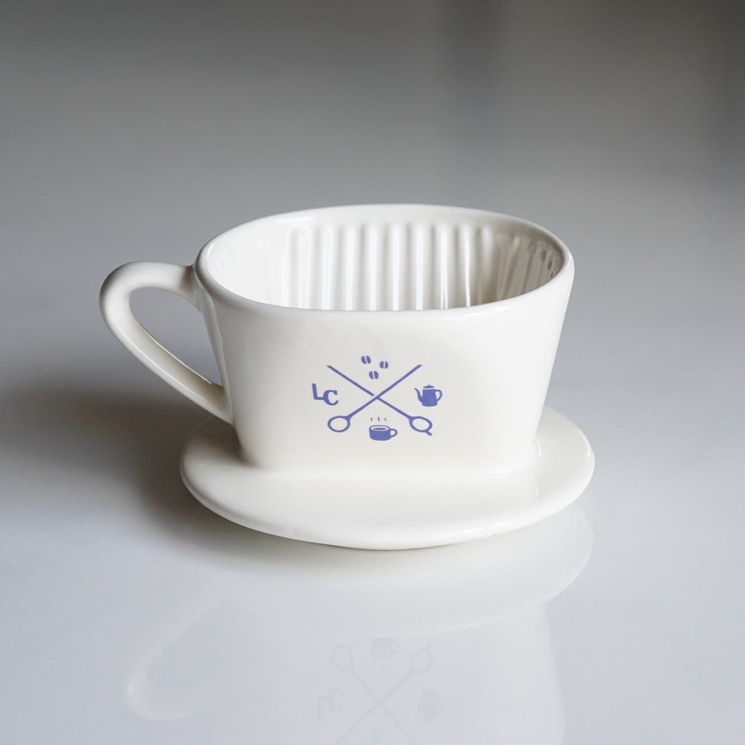 【瑠璃色】Melitta × LiLo 陶器ドリッパー SF-T 1×1 ラピスラズリー