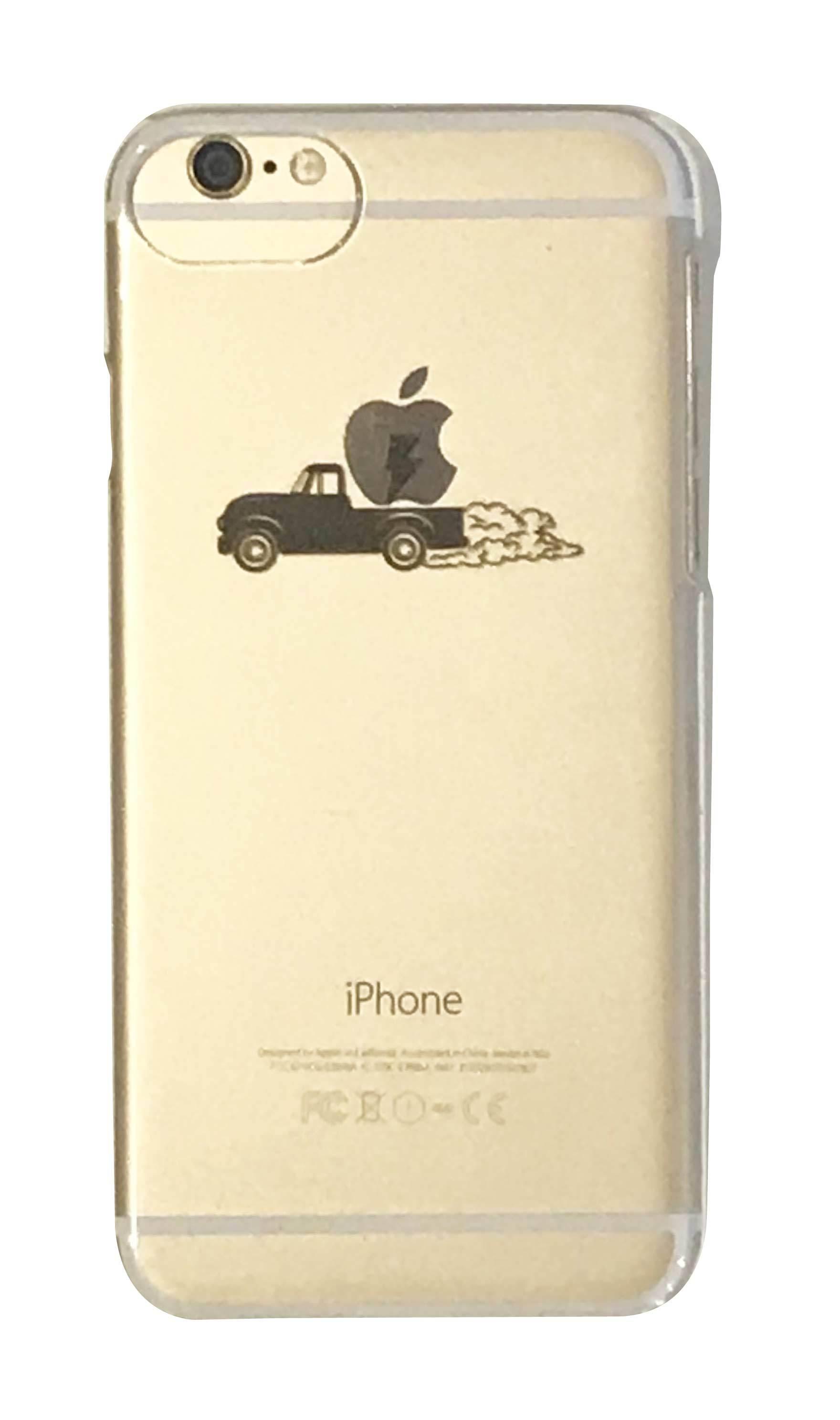apple car クリアハードケース