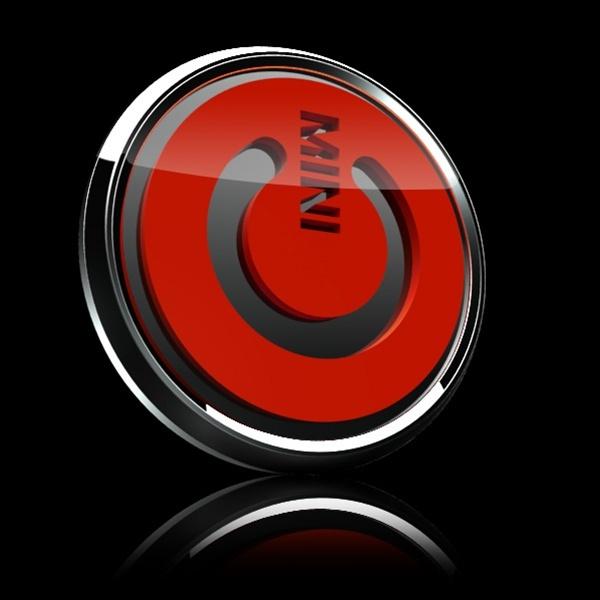 ゴーバッジ(3D)(LC0035 - 3D MINI POWER RED) - 画像2