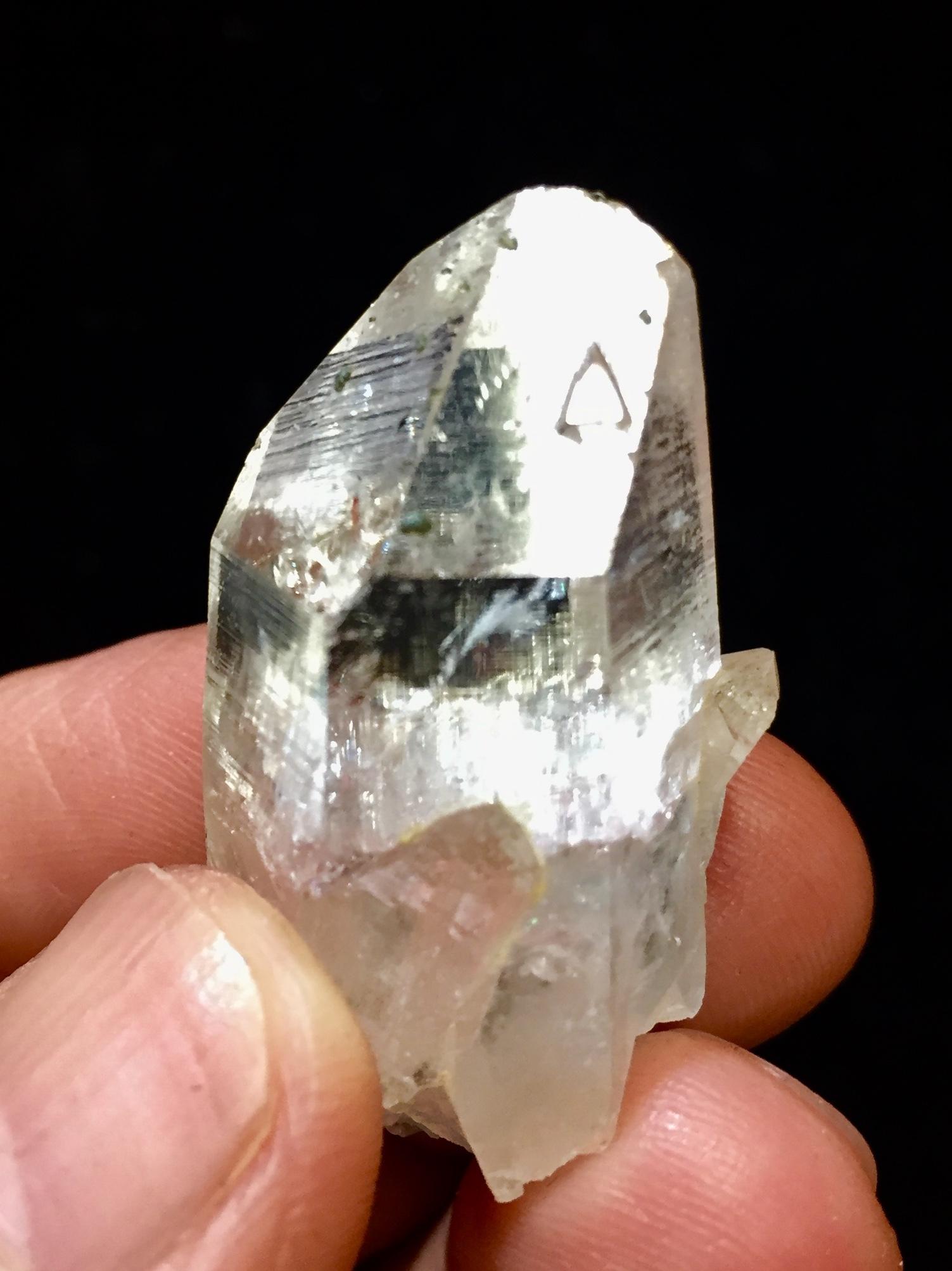 4) 高千穂岩戸水晶(美品)