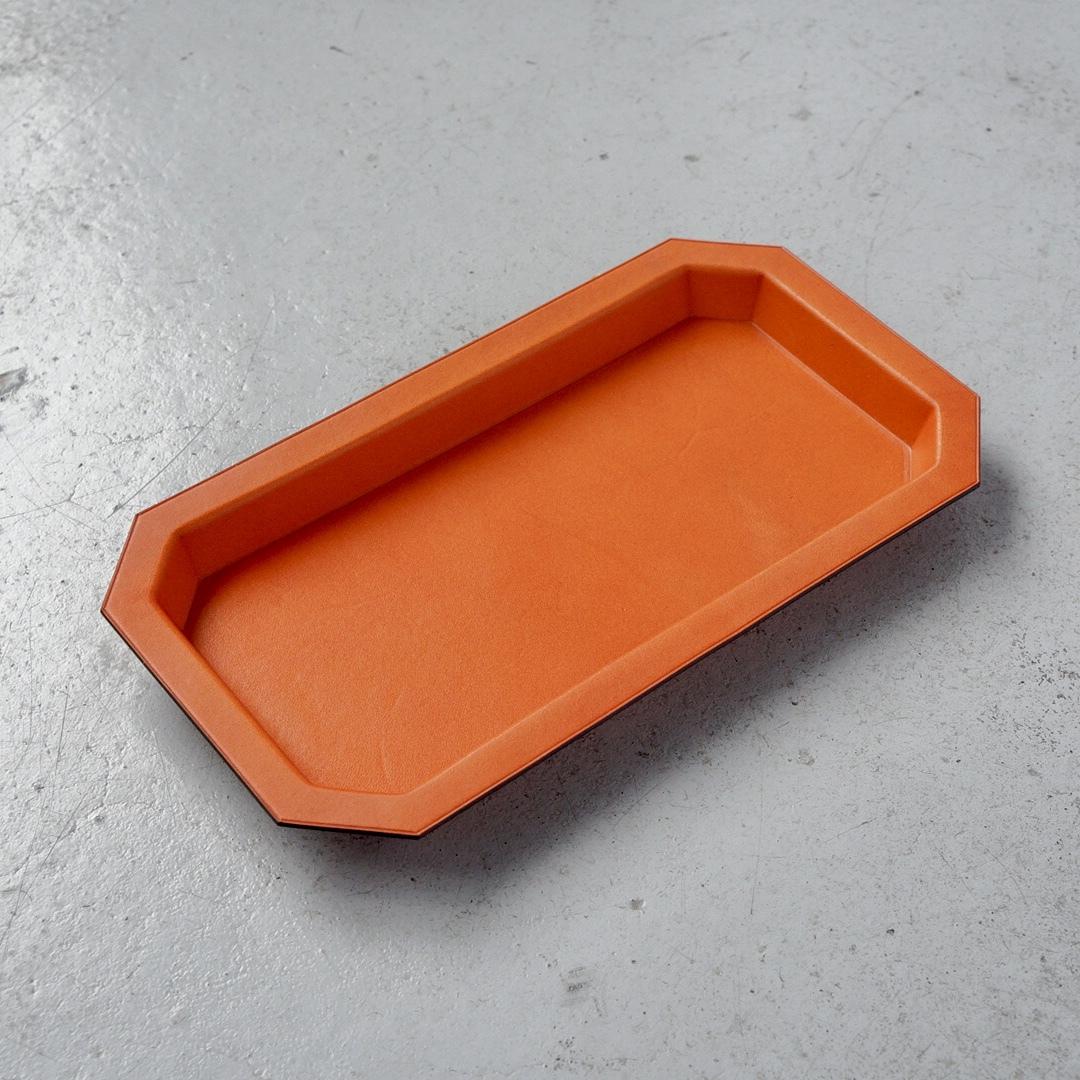 レザーマルチトレー <Sadr> オレンジ