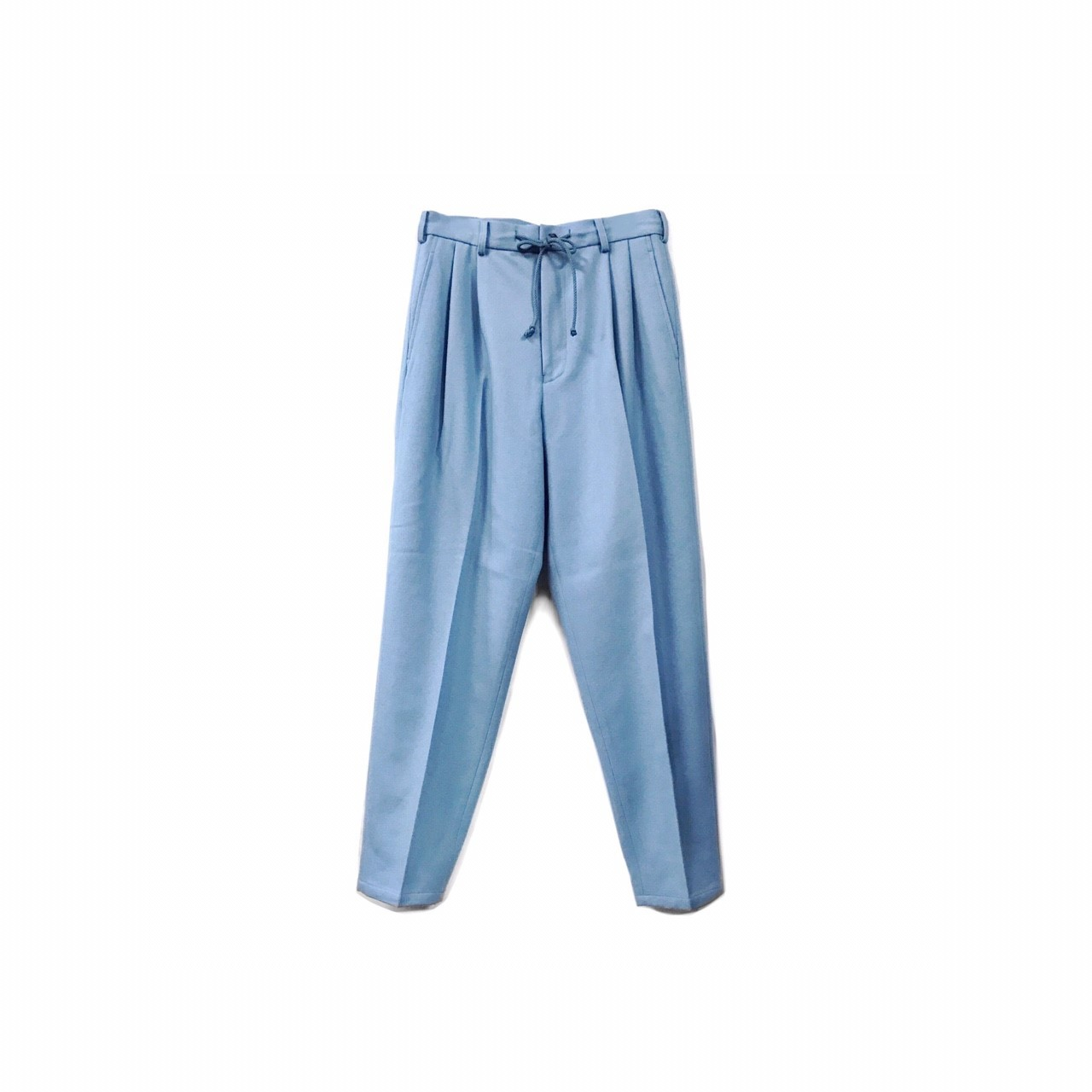 yotsuba - Wide Slacks / Light Blue ¥21000+tax