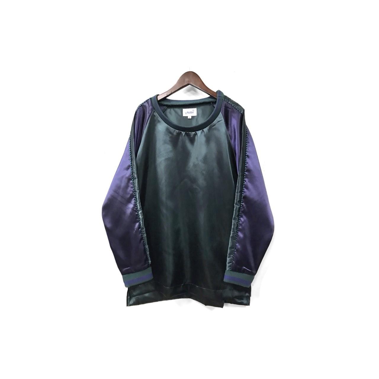 yotsuba - Souvenir Pullover Tops / Green ¥18000+tax