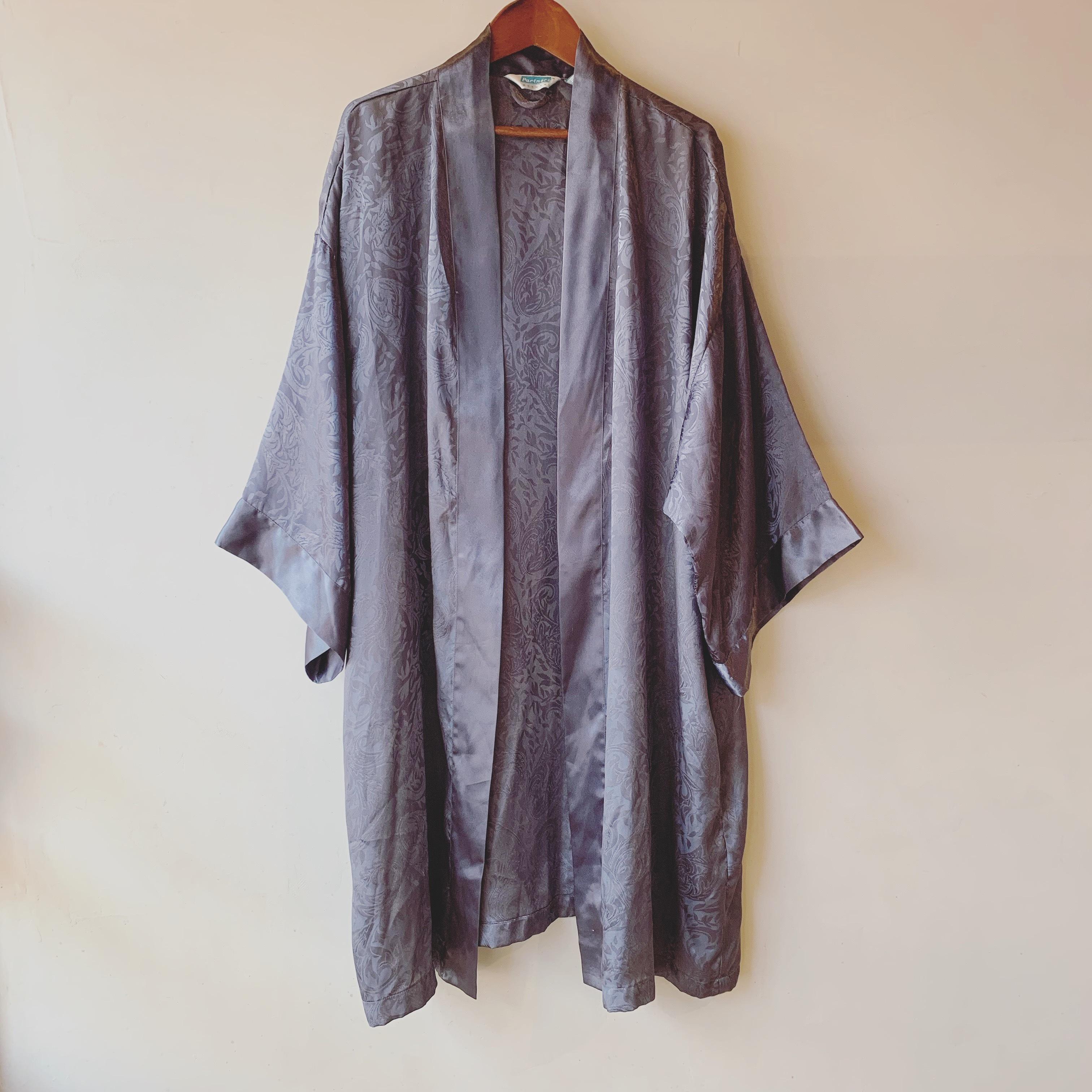 vintage ethnic design gown haori