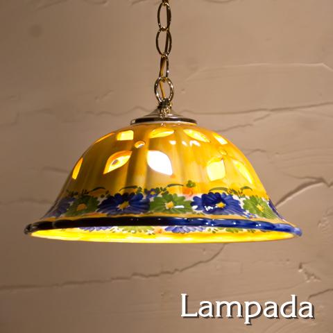 SR7336 スペイン・陶器ペンダントライト