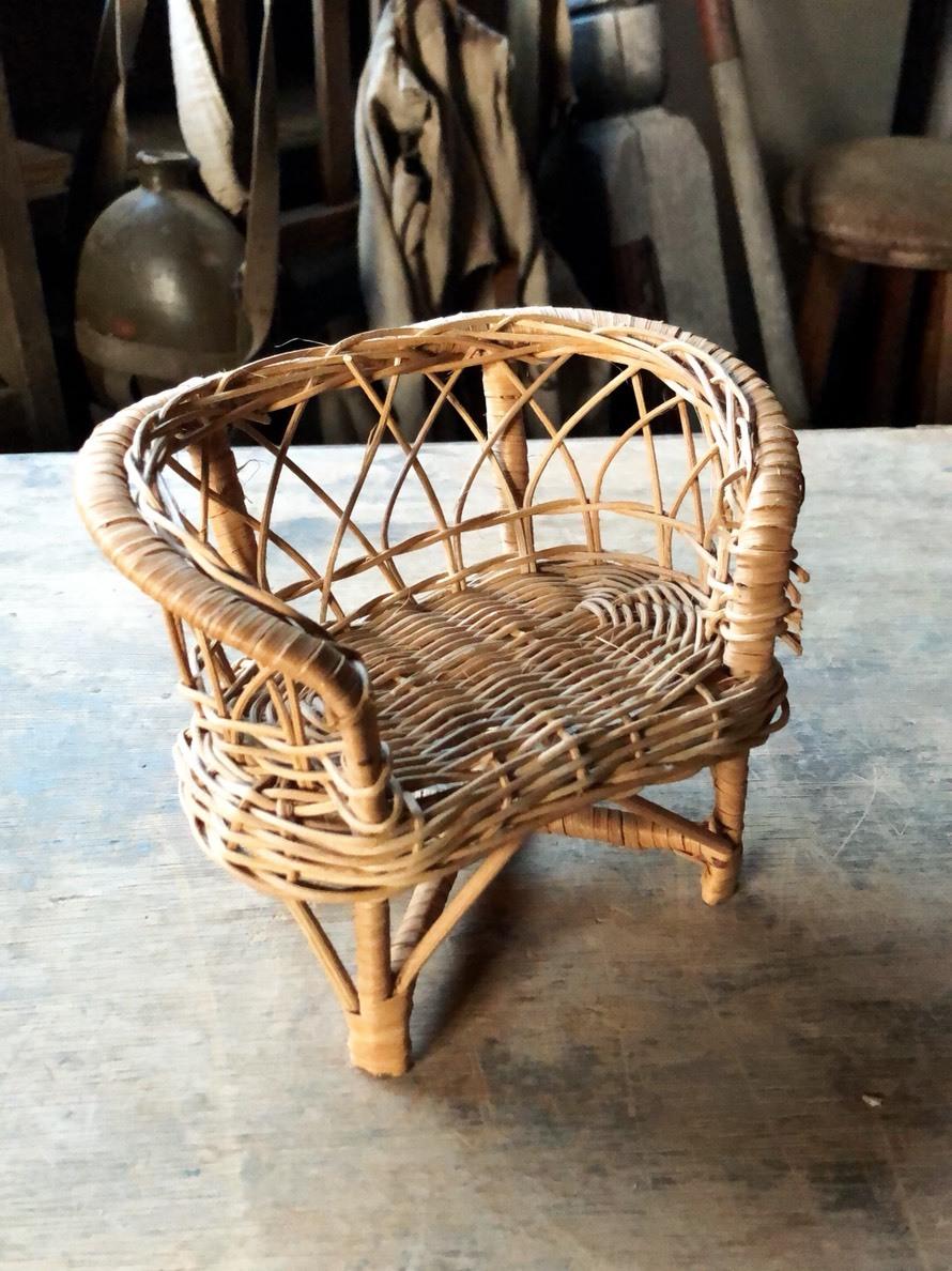ミニチュア椅子セット