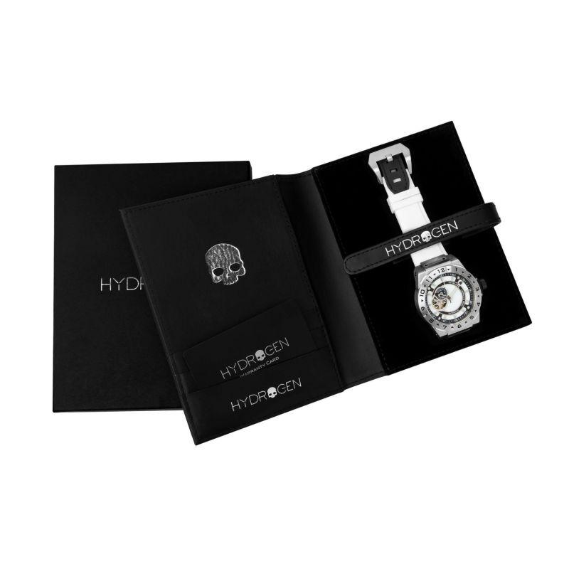 【HYDROGEN WATCH ハイドロゲンウォッチ】HW424400/VENTO ヴェント(ホワイト×シルバー)/正規輸入品