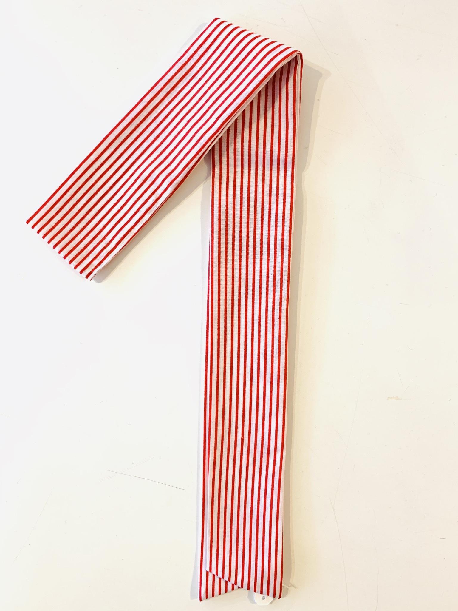 スカーフチャーム ストライプ レッド