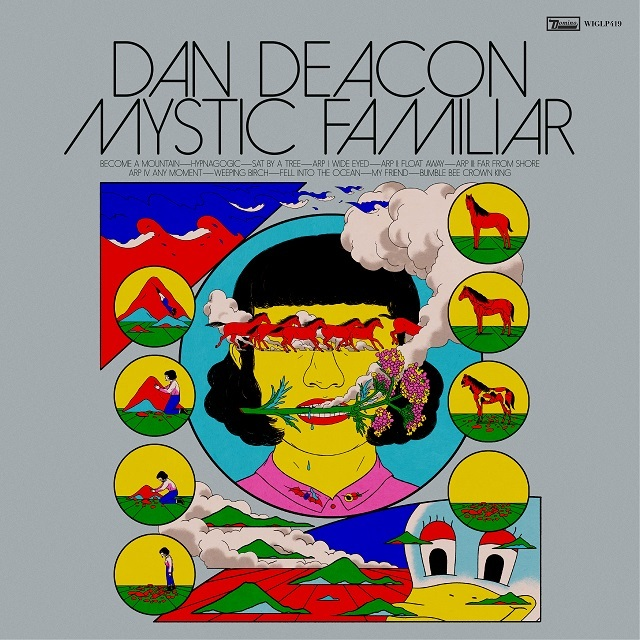 Dan Deacon - Mystic Familiar (LP)