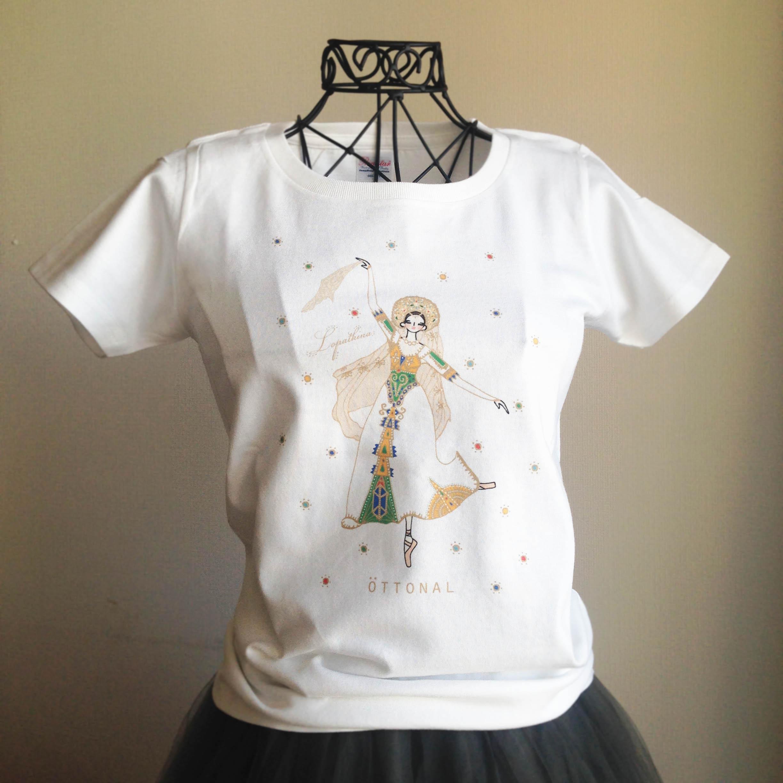 (即日発送・在庫残りわずか)★ロパートキナコラボ★ ロシアの踊りTシャツ(レディース) - 画像5