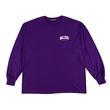【ROLLING CRADLE | ロリクレ】RC LOGO LONG T-SHIRT -KIN ver- / Purple