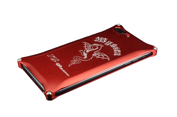 iPhone 7 Plus用 ワイバン スマートフォンケース レッド[XXSP-0005-RD]
