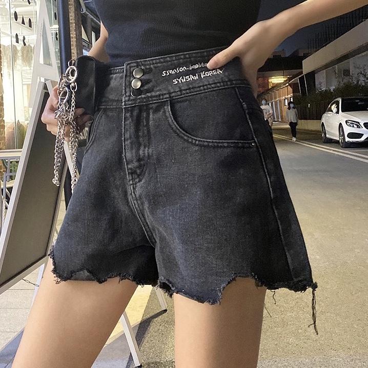 waist logo short pants