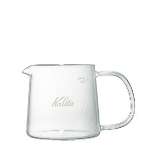 Kalita(カリタ) 耐熱ガラスコーヒーサーバーJug400 400ml
