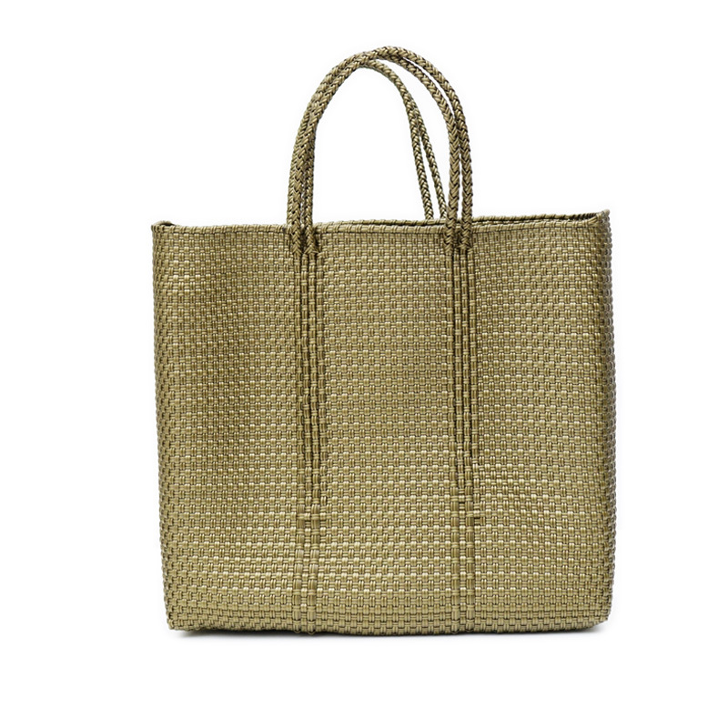 MERCADO BAG M.CHECK - Gold(M)
