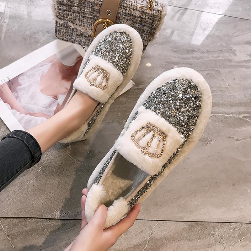 【shoes】新作配色合わせやすい人気フラットシューズ24156374