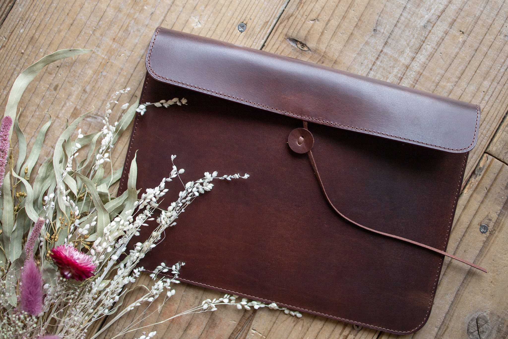 UPDATE|No.04_Leather iPad Case【12.9インチ】