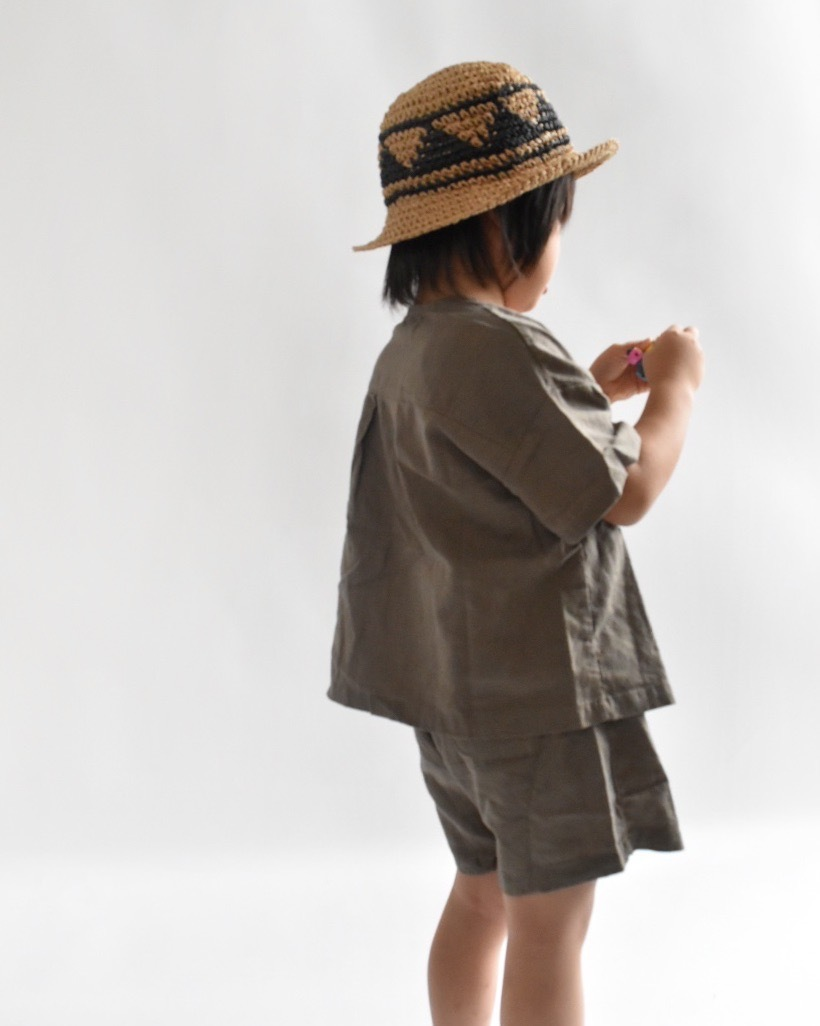 khaki brown setup.〔カーキブラウン セットアップ〕