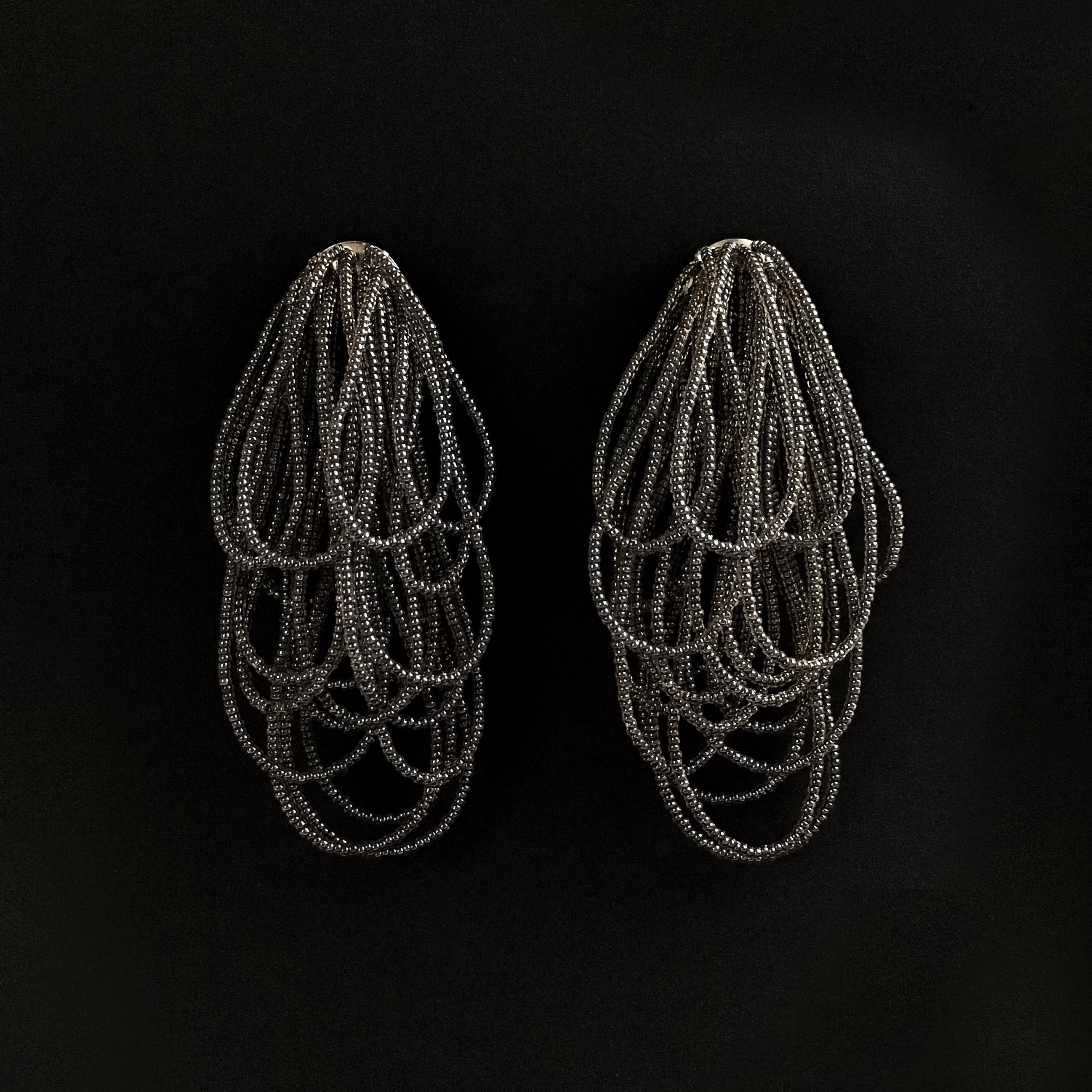 E-27 pierce/earring(black)