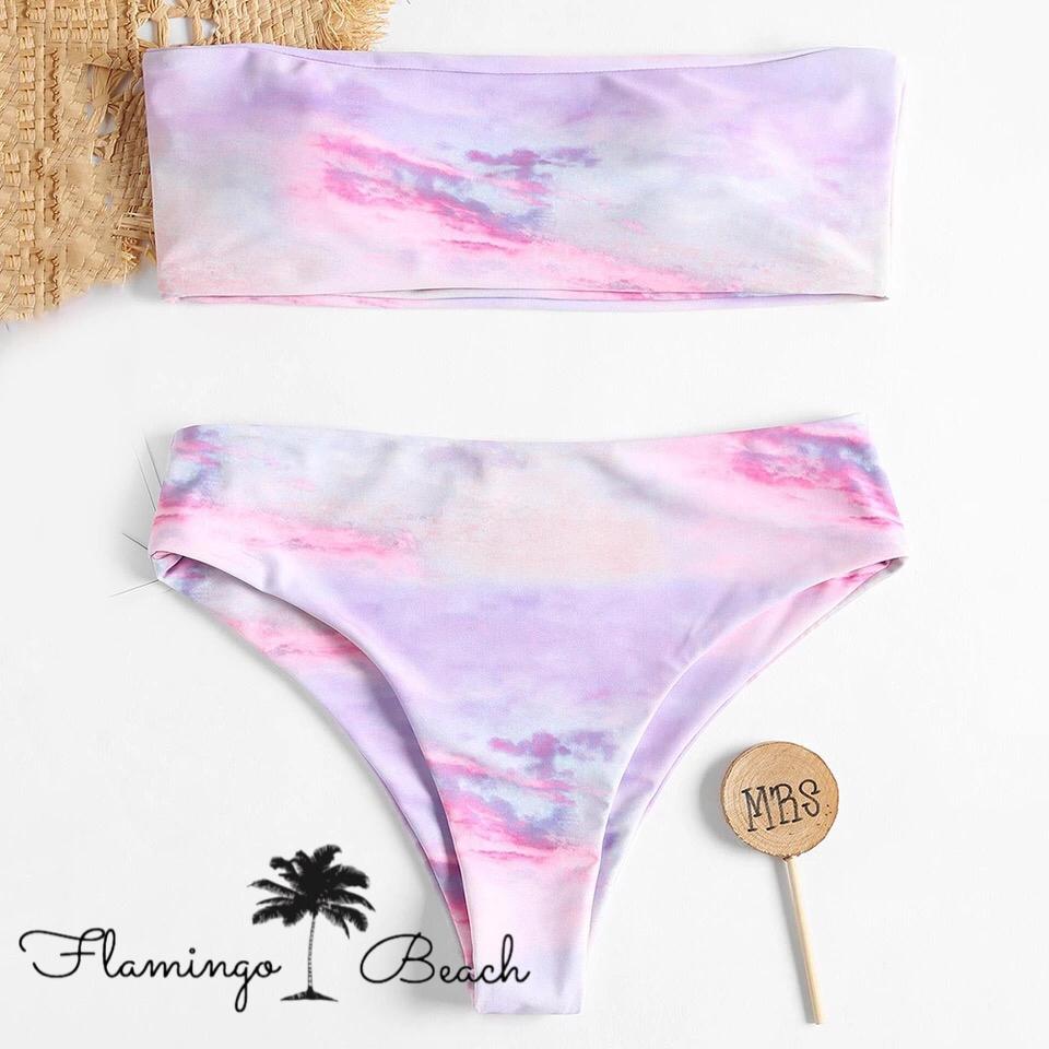 【FlamingoBeach】marble bikini