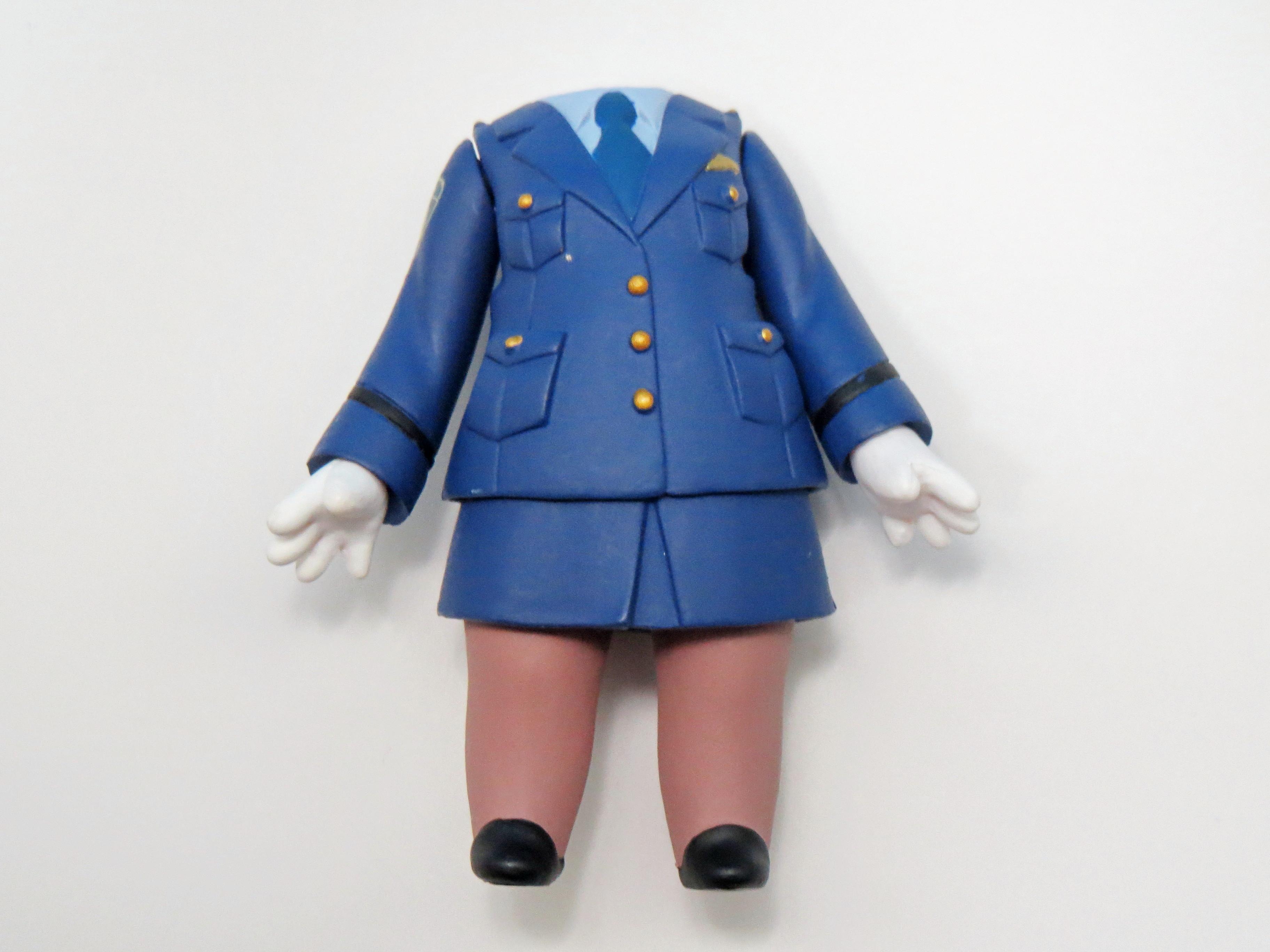 再入荷【416】 門田さくら 体パーツ 婦人警官の制服 ねんどろいど