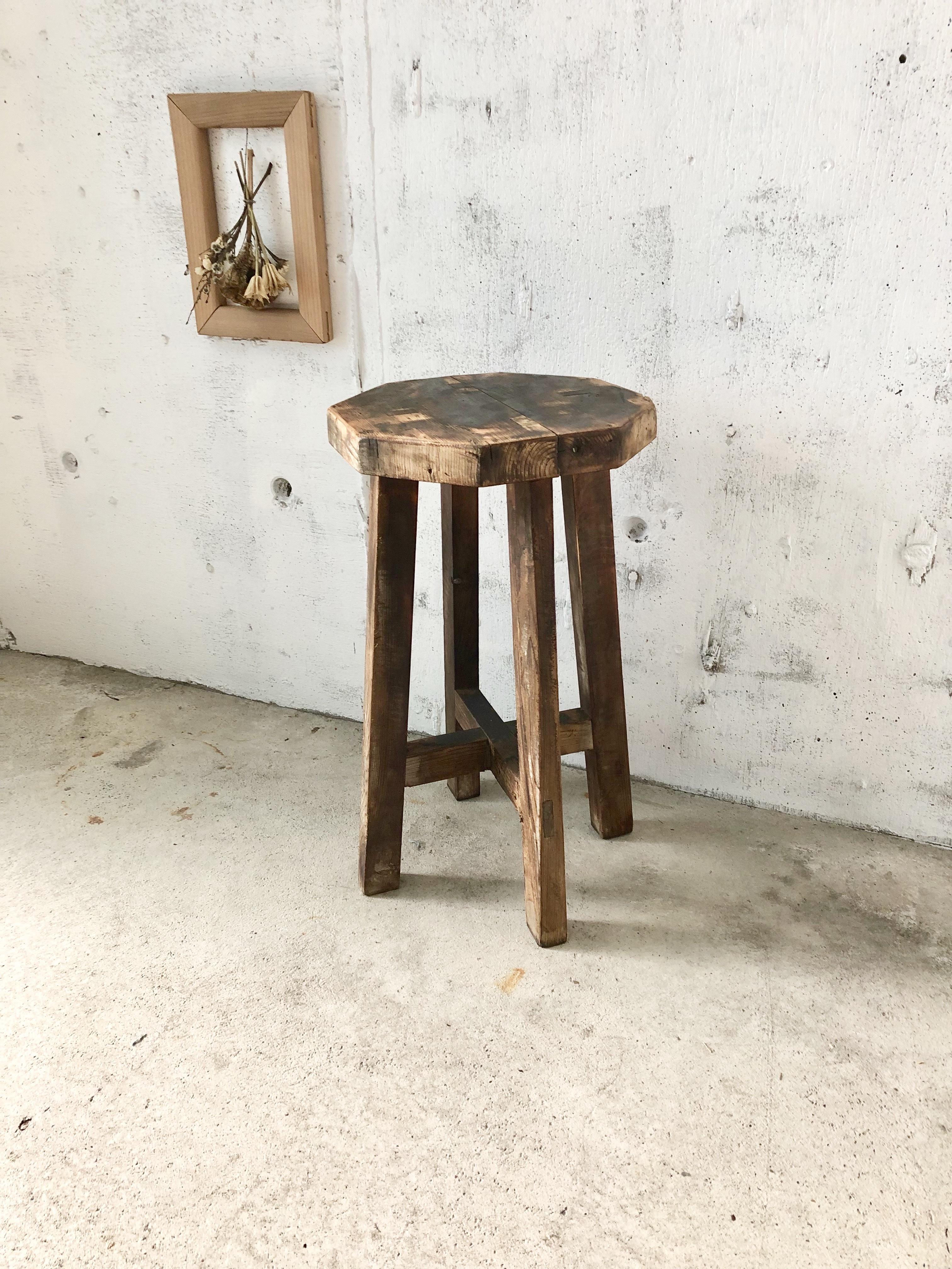 スツール 木製