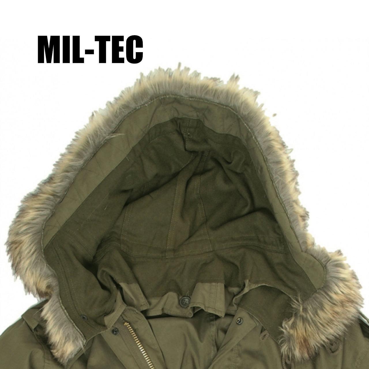 【MIL-TEC】 M-51 フィールドパーカ ファーフード 〈Olive Drab〉