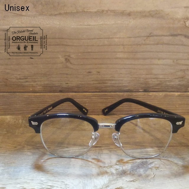 ORGUEIL  サングラス Sirmont Glasses OR-7052 (BLACK)