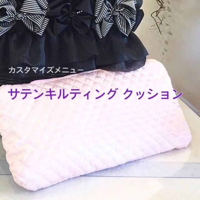 4キロ用 / カスタマイズメニュー ドッグキャリー夏カゴ用クッション  サテンキルティング