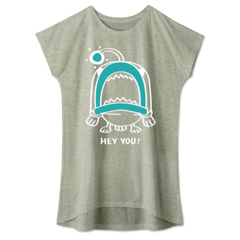 キャラT32 海の底のあんこ姫*HEY YOU* ワンピースタイプTシャツ