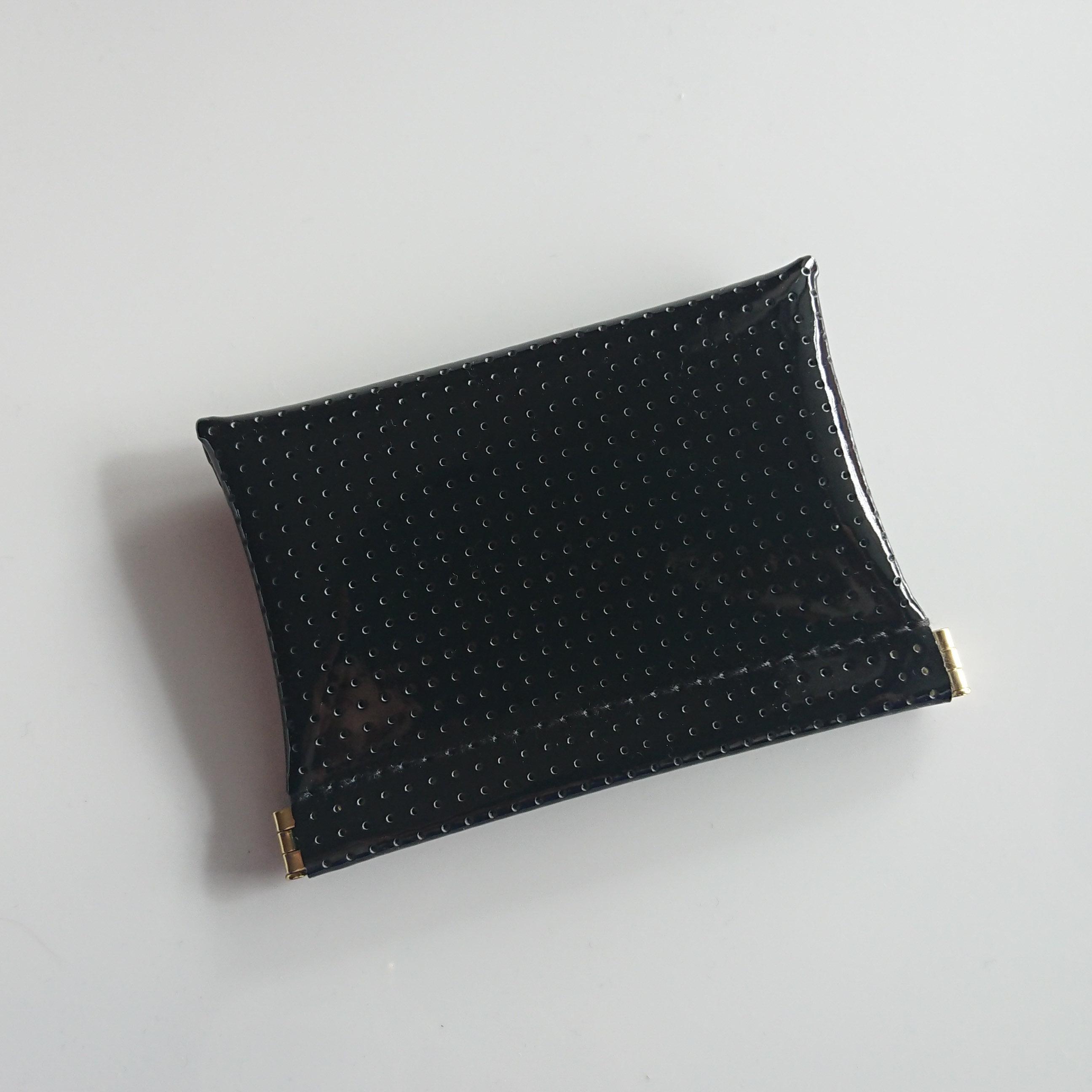 OSORO カードケース ☆ 黒ごま