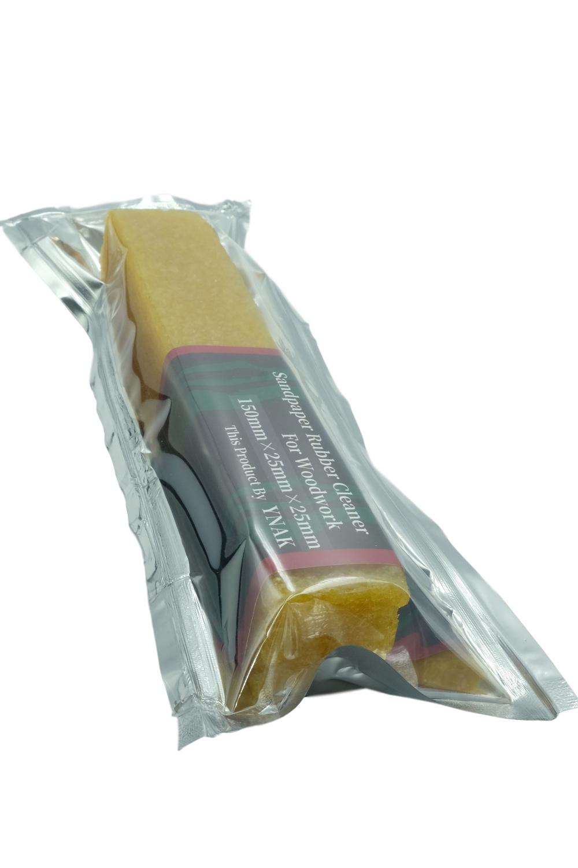 YNAK ベルトサンダー ベルト クリーナー ゴム製 サンドペーパー 研磨ベルト 目詰まり 消しゴム (150mm×25mm×25mm)