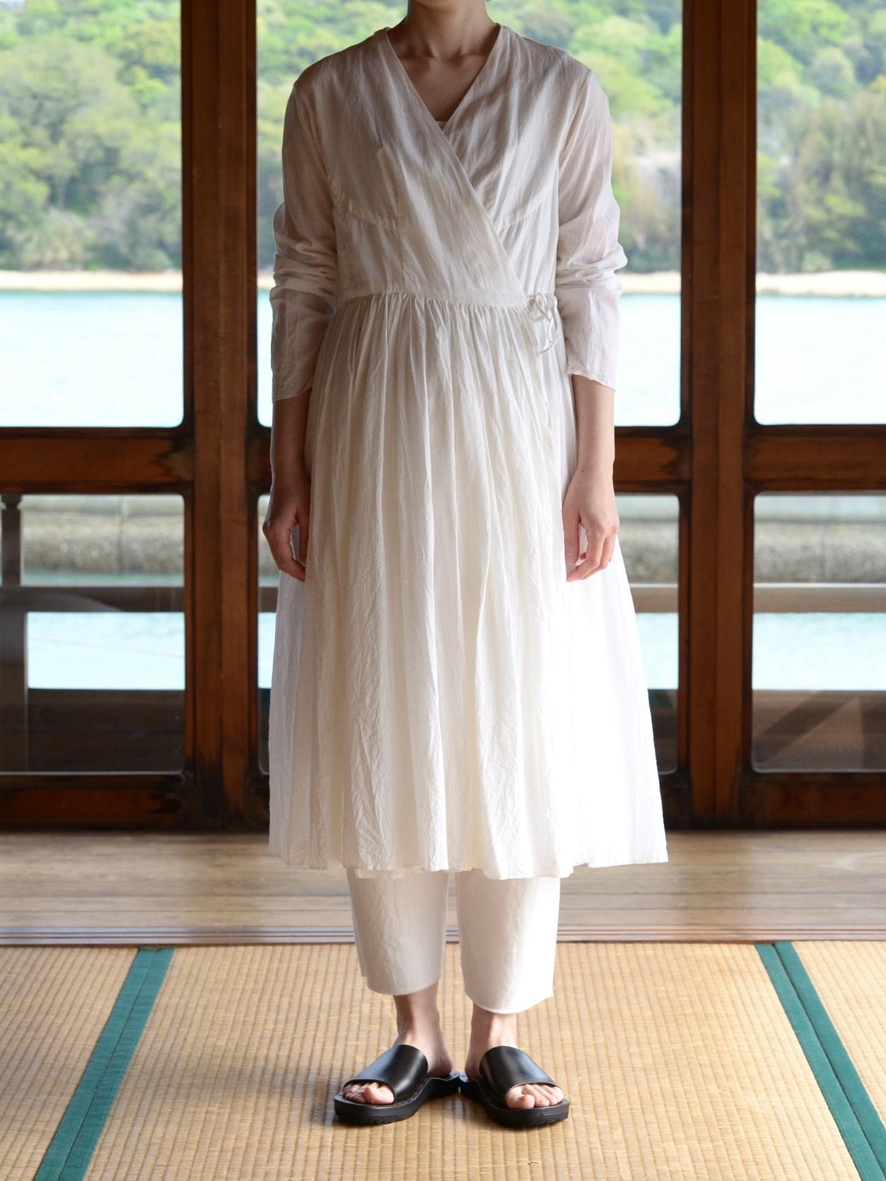 YAECA khadi |ラップギャザードレス