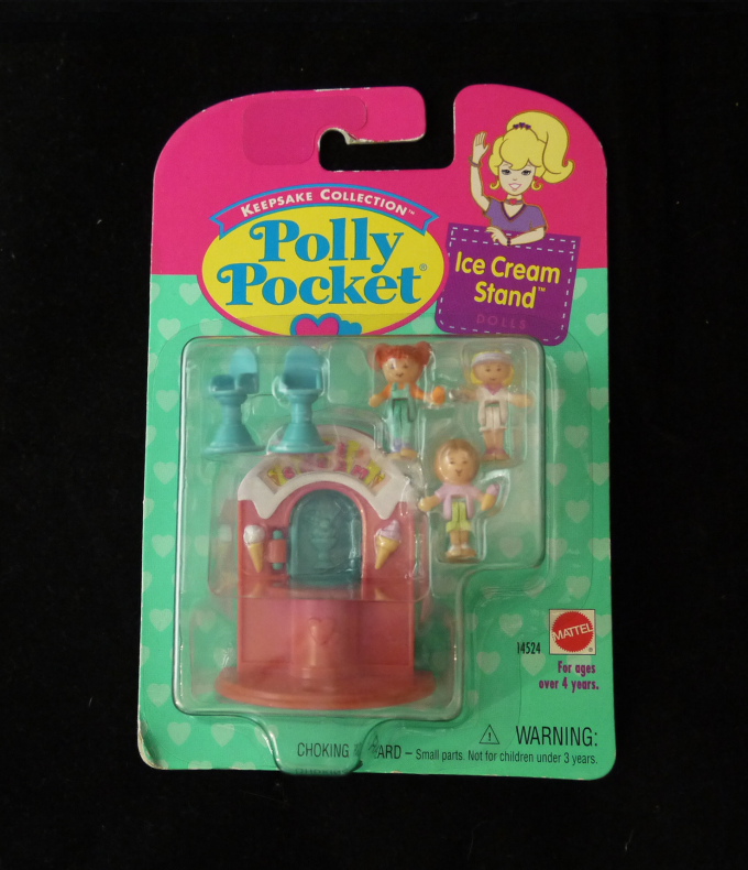 ポーリーポケット アイスクリームスタンド 新品1995年