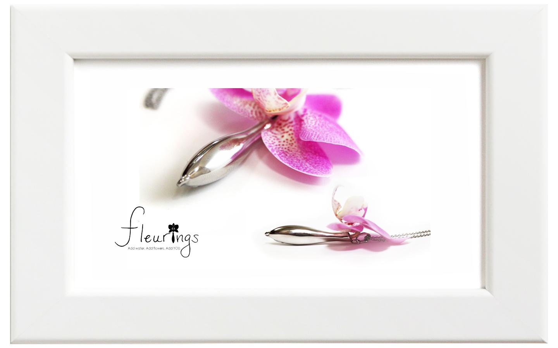 Fleurings/フルーリングス シルバーポリッシュネックレス