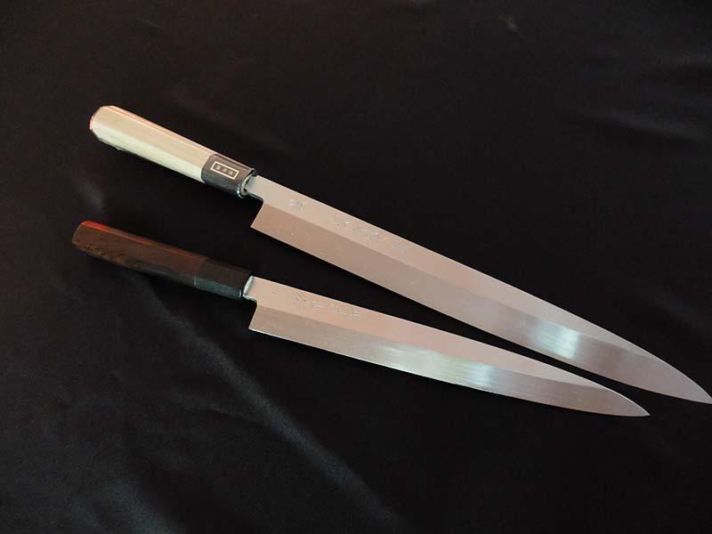 Tadasuke Yanagi Knife Hon Yaki 300mm