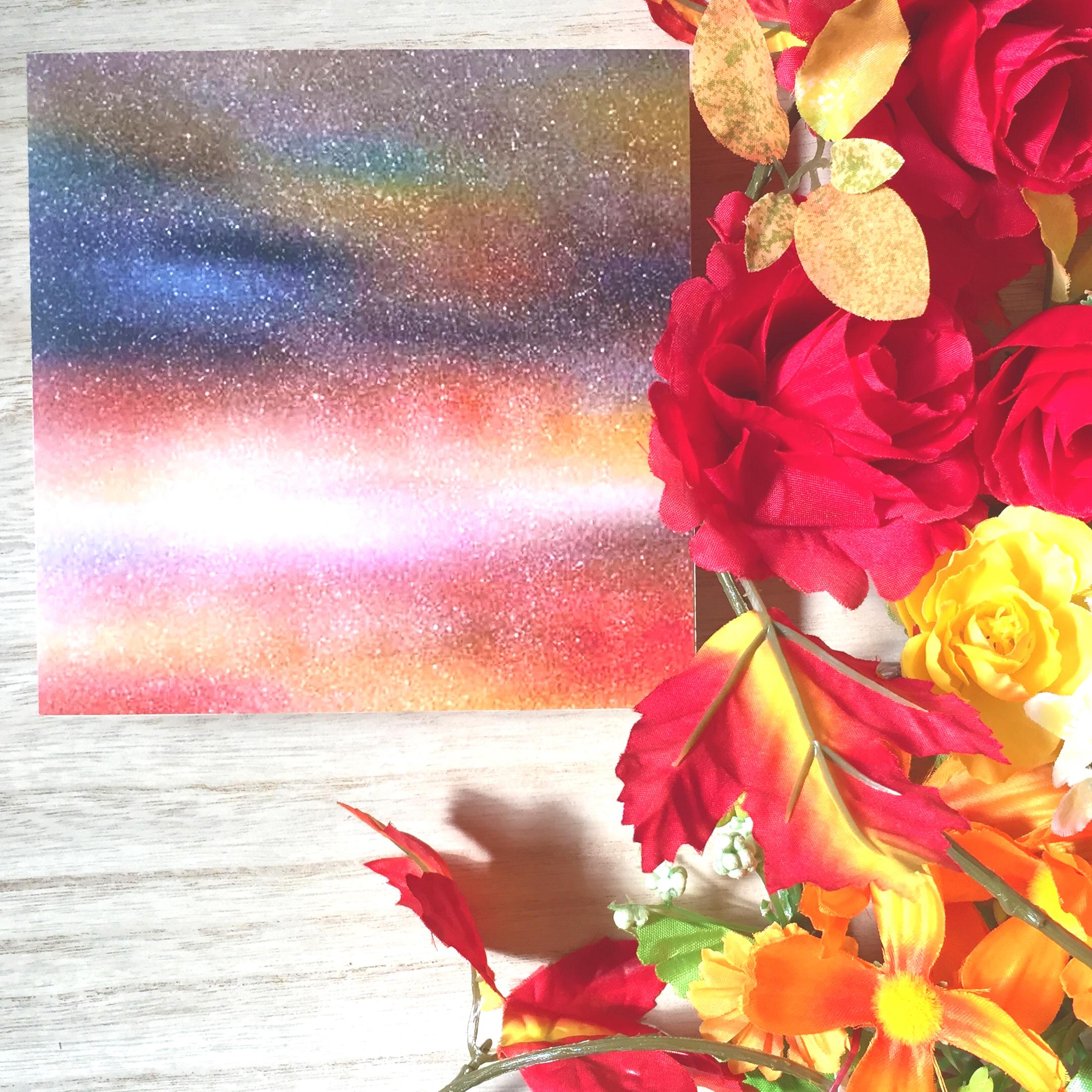 絵画 インテリア アートパネル 雑貨 壁掛け 置物 おしゃれ 染色画 染帯 ロココロ 画家 : 中島月下村 作品 : sora5 / 中島月下村