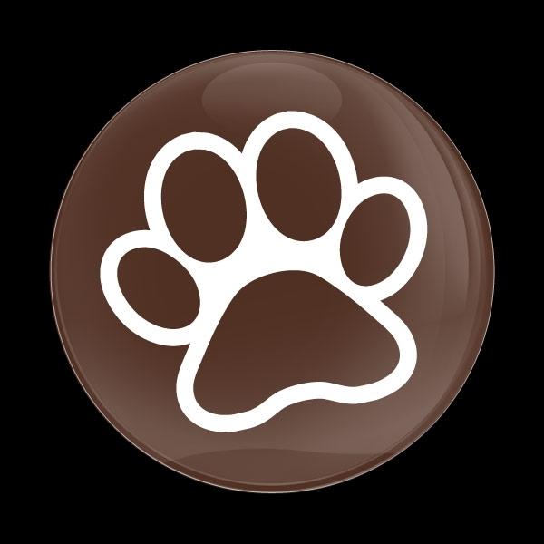 ゴーバッジ(ドーム)(CD1072 - DOG PAW) - 画像1