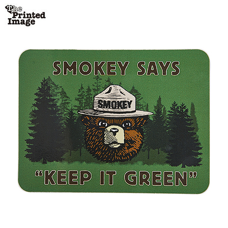 スモーキーベア KEEP IT GREEN ステッカー