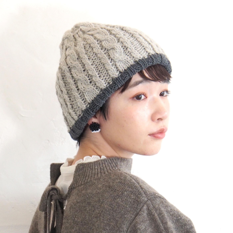 【BuLuKa(ブルカ)】リバーシブルニットワッチ 81-6001