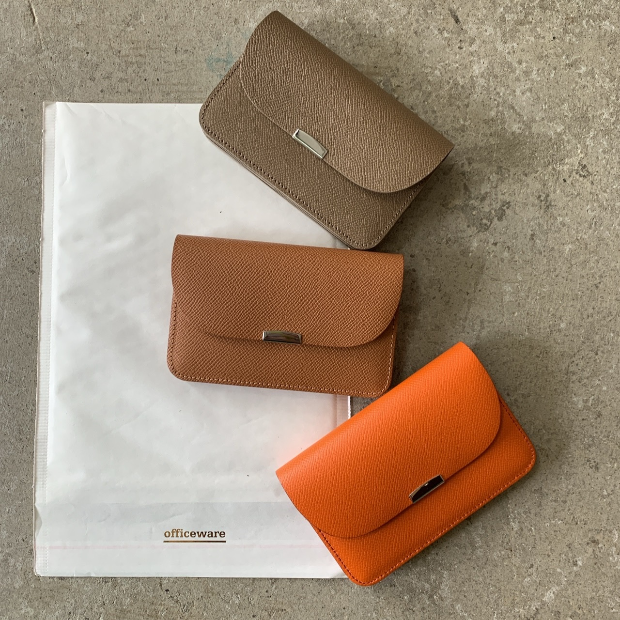 DIGAWEL - GARSON PURSE Cow leather