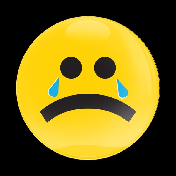 ゴーバッジ(ドーム)(CD1033 - EMOJI CRYING) - 画像1